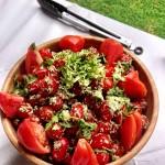 Tomato & Herb Dressing Salad